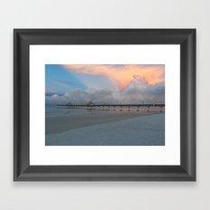 A Serene Morning Framed Art Print