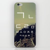 korean iPhone & iPod Skins featuring korean alpha by Alison Kim