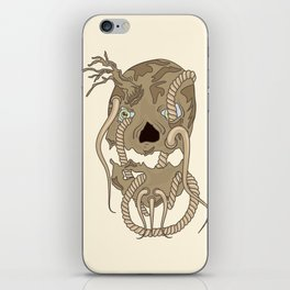 Dead Living by Tree iPhone Skin