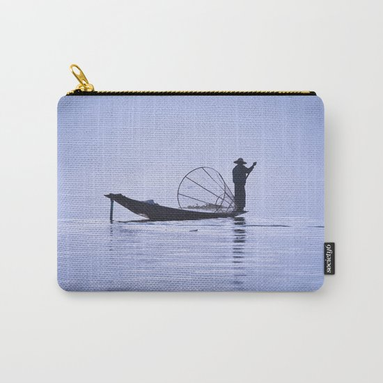 FISHERMAN AT INLE LAKE II Carry-All Pouch
