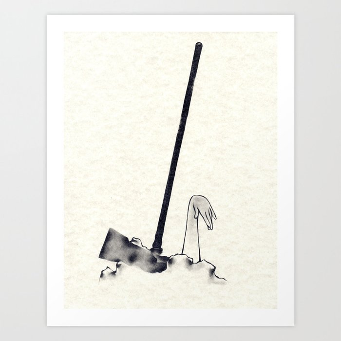 The Hammer Fall Art Print