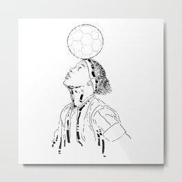 Ronaldo de Assis Moreira Metal Print