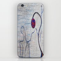 soul iPhone & iPod Skins featuring soul by Loosso