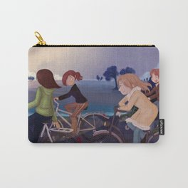 Riding to school Carry-All Pouch
