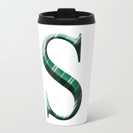 S for Slytherin Travel Mug
