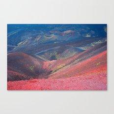 The Volcan Etna Canvas Print