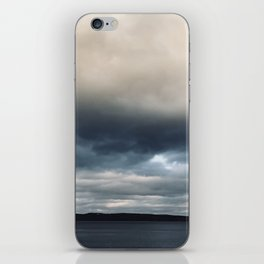 The sky is falling iPhone Skin