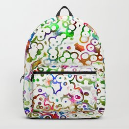 Abstract Microbes Backpack