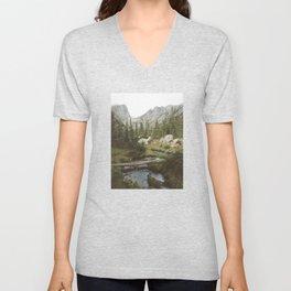 Dream Lake Creek Unisex V-Neck