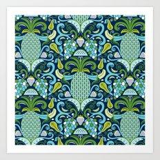 Ambrosia Blue Art Print