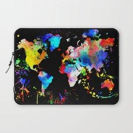World Grunge Laptop Sleeve