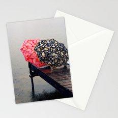 Rainy Day Friends Stationery Cards