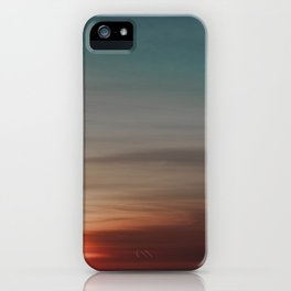Ombre Skies iPhone Case