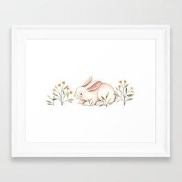 Blossom Bunny Framed Art Print