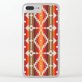 POW WOW Clear iPhone Case