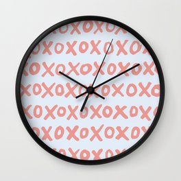 Tic Tac Toe (XOXO) Wall Clock