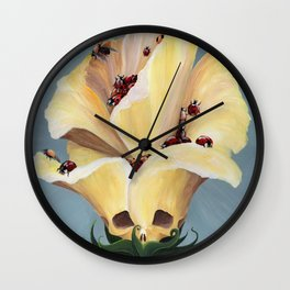 Botanicle Bone Wall Clock