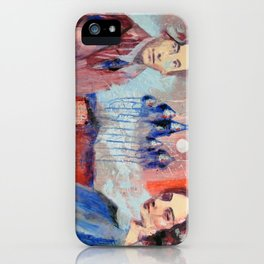 The Space Inbetween: Marc Chagall and Bella Rosenfeld iPhone Case