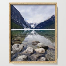 Lake Louise Reflection Serving Tray