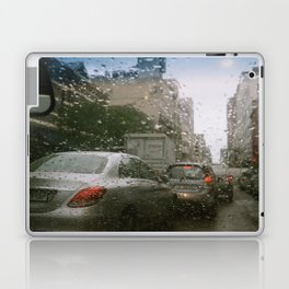Cape Town traffic on a rainy day Laptop & iPad Skin