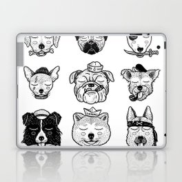 Ocean Dogs Laptop & iPad Skin