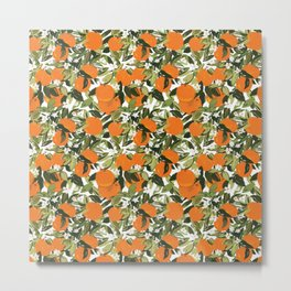 Clementine Metal Print