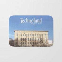 Technoland, Berlin, the Techno Meca Club! Bath Mat