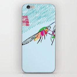 Bringing what I got [MOTH] [COLORS] [RAIN] [GIVEN] [GIVE] iPhone Skin