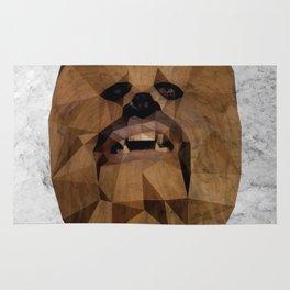 Wookie low poly Rug