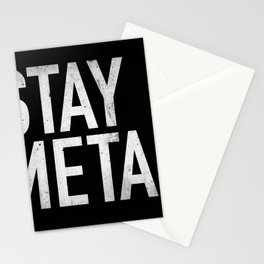 Stay Metal Stationery Cards
