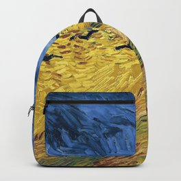 Wheatfield with Crows by Vincent van Gogh Backpack