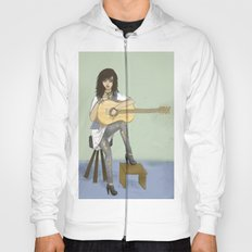 Now If Only I Could Play Guitar Hoody