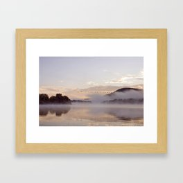 Into the Mists of Dawn Framed Art Print