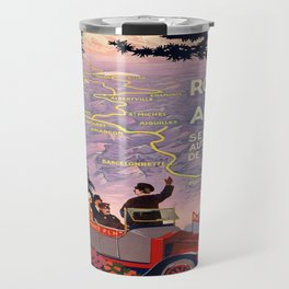 Vintage poster - Route des Alpes, France Travel Mug