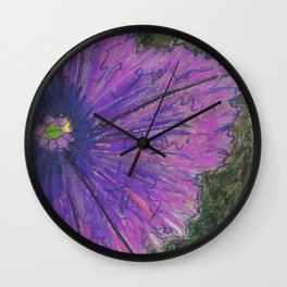 Petunia Wall Clock