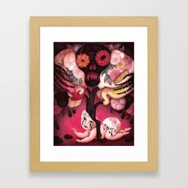 The maleficent effects of endocrine disruptors Framed Art Print