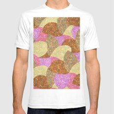 Pattern #53 Mens Fitted Tee MEDIUM White