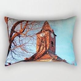 The village church of Waxenberg Rectangular Pillow