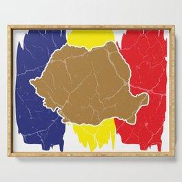 Romania gift Bucharest Transylvania Romanian Serving Tray
