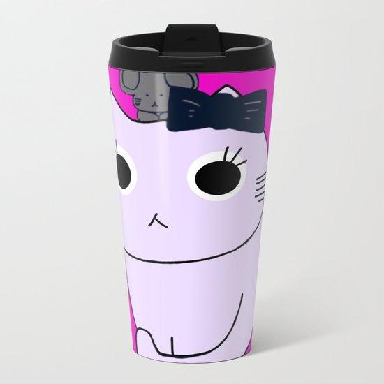 cat-402 Metal Travel Mug