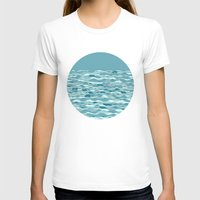 waves T-shirts featuring Waves by Anita Ivancenko