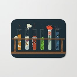 Science with Beaker Bath Mat