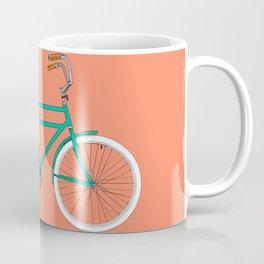 Brooklyn Cruiser - Bike print illustration Coffee Mug