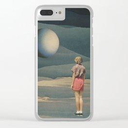 Indigo Dreams Clear iPhone Case