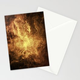 The Burning Stationery Cards