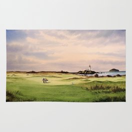 Turnberry Golf Course 12th Hole Rug
