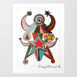 Astrapop 38 Art Print