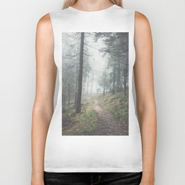 Into the unknown - Landscape and Nature Photography Biker Tank
