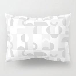 Gray Domio Mosaic (Landscape) Pillow Sham