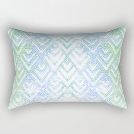 Pastel Chevrons Rectangular Pillow